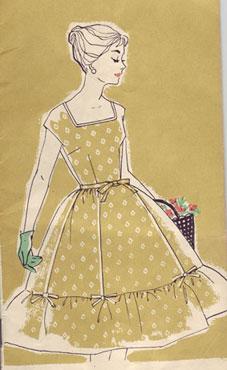 выкройки платьев 60 х годов